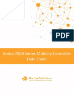 Aruba 7000 Series Mobility Controller Data Sheet