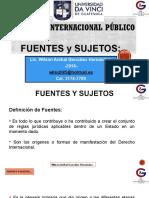2. Fuentes Del Derecho y Sujetos