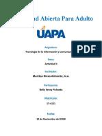 Universidad Abierta Para Adulto -- Tarea II (Nelly Yenny Pichardo)