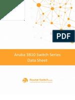 Aruba 3810 Switch Series Data Sheet