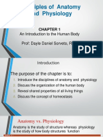 week 1 introduction to anatomy and physiology