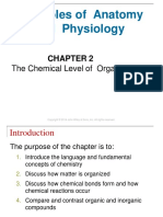 Week 2 Chemical levels of Organization