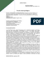 A1.6.Teoria Antropologica