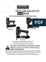 3 Piece Air Nailer Kit Manual Model 98464
