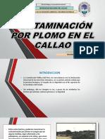 Contaminacion Por Plomo en El Callao Ppt
