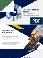 Scheduling Risk Analysis