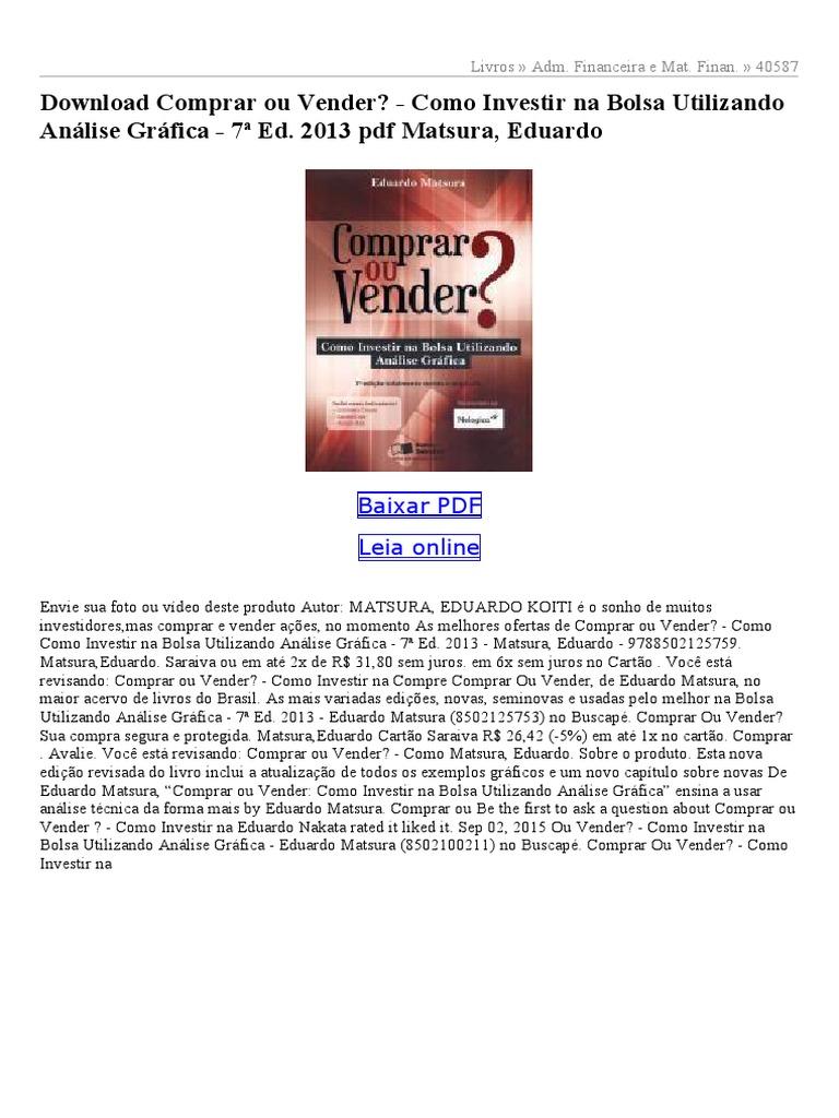 28bebad76 Comprar-ou-Vender-Como-Investir-na-Bolsa -Utilizando-Análise-Gráfica-7ª-Ed-2013.pdf