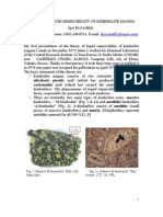 Liquid Immiscibility in Kimberlite Magma