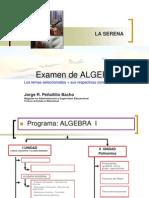 Matematicas UPV  Programa examen2008