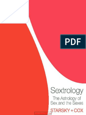 Sextrology The Astrology of Sex and the Sexes pdf | Astrological