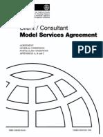FIDIC Client Consultant Agreement