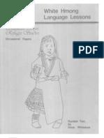 White Hmong English Dictionary