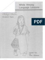 Hmong Lessons