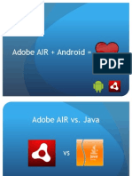 Android Apps with Adobe AIR