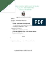 TRABAJO 1.CPPN II.teoría y Clasificac. DeAcciones Procesales