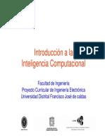 Introducción a la Inteligencia Computacional
