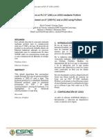 Conexión Entre Un PLC S7 1200 y Un LOGO Mediante Profient