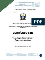 Plan Curricular de la UNDAC