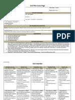 delp unit plan - the synthesis essay