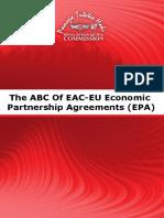 The ABC of EAC-EU Economic Partnership Agreements (EPA)