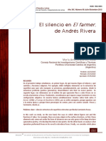 "El silencio en ""El Farmer"" de Andrés Rivera."