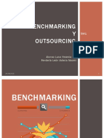 Benchmarking y Outsourcing