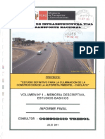 Volumen 1, Informe Final Estudios Basicos