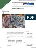 Rupiah akan bergerak konsolidasi pekan ini.pdf