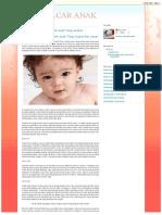 Obat Penyakit Cacar Untuk Anak Yang Ampuh Dan Aman