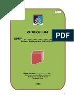 Model Buku I Kurikulum 2013 SMP