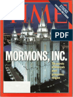 Time Magazine - Mormon Issue - Aug 1997