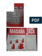 Masada Bottle Jack 100t