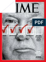 Time Magazine March 14 2016