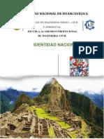 Monografia Identidad Nacional