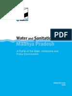 Water Sanitation Madhya Pradesh Policy