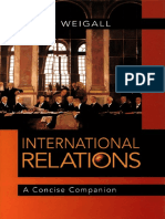 David Weigall-International Relations_ a Concise Companion-Bloomsbury USA (2002)