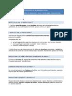 Fiche Guide de La Revue de Presse