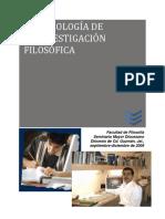 MetodologÃ-a+de+la+Investigación+Filosófica+2009