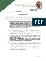 Final Exam in DPA 304 Criselda David Lucena City