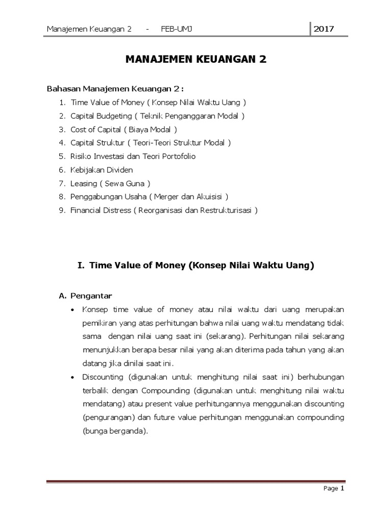 Contoh Soal Kebijakan Dividen Manajemen Keuangan - Bagikan ...