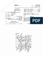 US4006401 - Electromagnetic Generator - De Rivas