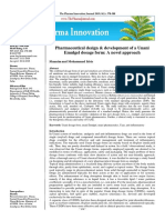 Pharmaceutical design & development of a Unani Emulgel dosage form