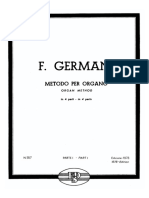 Germani - Metodo per Organo - Volume 1