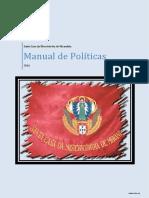Manual de Políticas SCMM