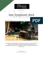 Copia de Epic Symphonic Rock - Teatro Municipal 2018