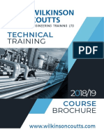 Technical Training Brochure2019