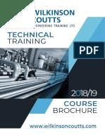Technical Training Brochure2019