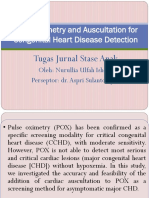 Pulse Oximetry and Auscultation For