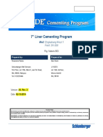 352674909 Cementing Squeeze Program Example PDF