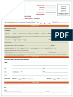 FASTag Application Form